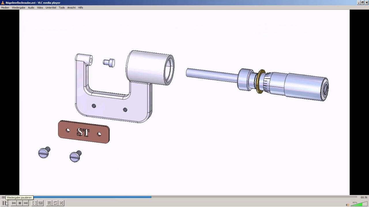 Vorschaubild: Technische Dokumentation mit Solid Edge