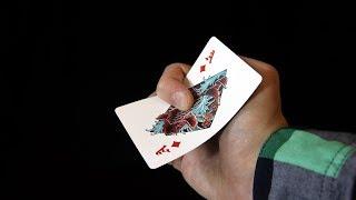 КАК МЕТАТЬ КАРТЫ? // ЭФФЕКТНЫЙ БРОСОК КАРТЫ // ОБУЧЕНИЕ