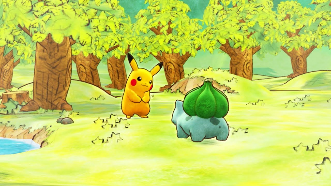 Trailer di Pokémon Mystery Dungeon: Rescue Team DX