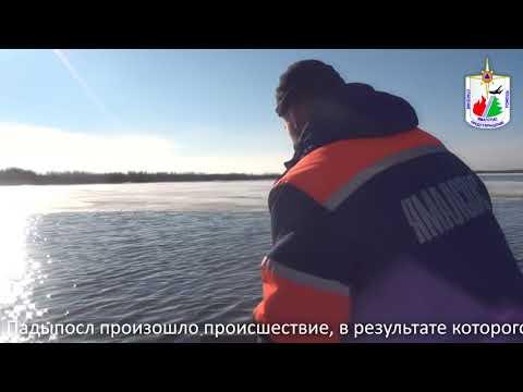 Поисково-спасательная работа в районе протоки Падыпосл