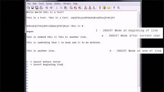 Editing With vim 03 - Advanced Insertion Modes