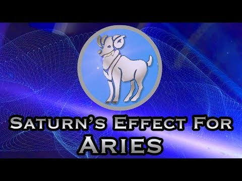 Aries Yearly Horoscope | Saturn's Transit For Aries Yearly