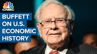Iconic investor Warren Buffett lays out the history of the US economy