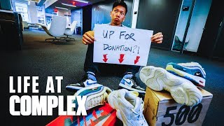 GIVE THESE REPLICA NIKE SEAN WOTHERSPOONS AND YEEZYS AWAY? | #LIFEATCOMPLEX