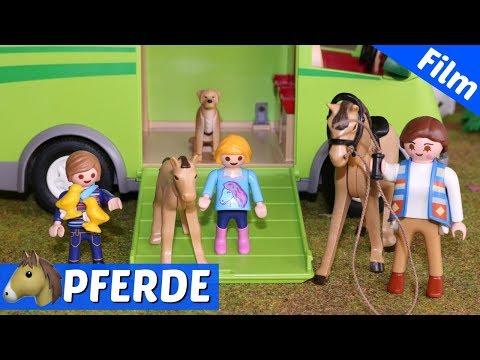 Playmobil Film deutsch - 🐴Umzug von Hannahs Tieren - Bauernhof zieht um - Familie Fröhlich