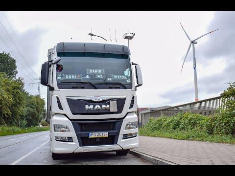Wakacyjna trasa ciężarówką 2019