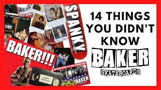 BAKER SKATEBOARDS: 14 THINGS YOU DIDN'T KNOW ABOUT BAKER (2020)