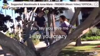 Friends Lyrics (Sofie Dossi Music Video)