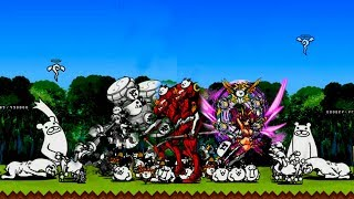 The Battle Cats - Which One Is Better: Pai Pai, Divine Thundia, Or Eva Unit-02?