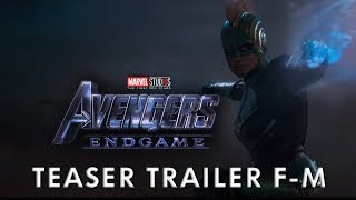 Trailer AVENGERS 4 (EndGame) - En Español Latino Marvel FAN-MADE 2019