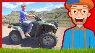 Blippi on the Ranch with Horses | and More Videos 1 HOUR!