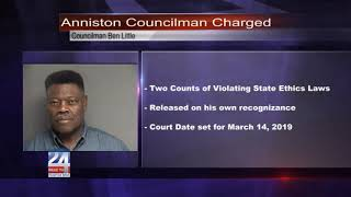 Anniston Councilman Charged With Violating State Ethics Law