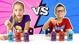 Twin Telepathy Slime Challenge!!!