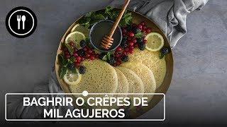 BAGHRIR: los crêpes marroquíes de los MIL AGUJEROS