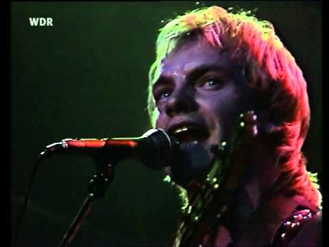 The Police - Hole In My Life (live in Hamburg '80)