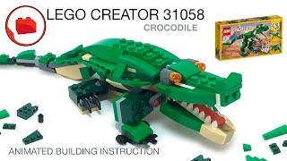 LEGO CREATOR 31058 Alternative Build Instruction - Crocodile MOC, Самоделка, Инструкция Крокодила