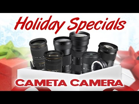 Black Friday Deals - Sigma Lenses for Canon, Nikon & Sony (SALE ENDED)