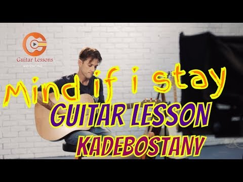 How to play mind if i stay - kadebostany (guitar lesson+chords)