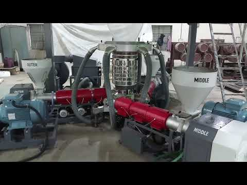 3 Layer Plastic Blown Plant