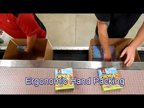 E2500 Ergopack Nema 4 SSTL Pack Station for Chipboard Cartons