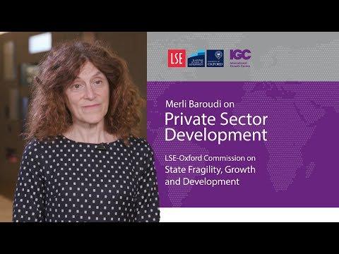 Merli Baroudi: Jump starting growth in fragile states