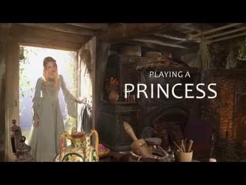 Maleficent Featurette 'Playing a Princess'