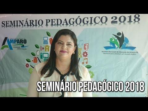 Seminário Pedagógico 2018 em Amparo