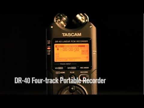 TASCAM DR-40 Kapesní rekordér