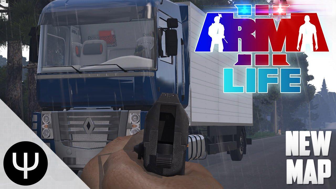 ARMA 3: Life Mod — New Map!