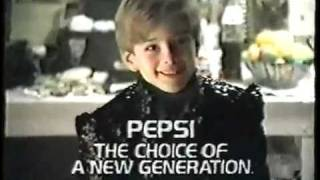 Pepsi Commercial - (Kid In Michael Jackson's Dressing Room) 1987