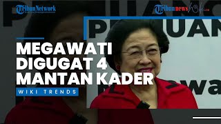 Megawati Digugat 4 Mantan Kader PDI-P Rp 40 Miliar, Ini Penyebabnya