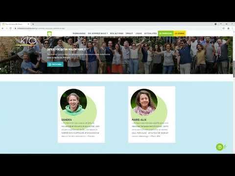 Le site web des Enfants du Mékong