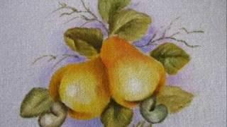 Pintura em tecido – Cajus