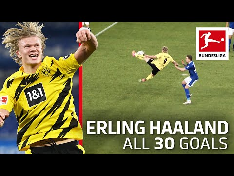 Erling Haaland – 30 Goals Now in Only 32 Games