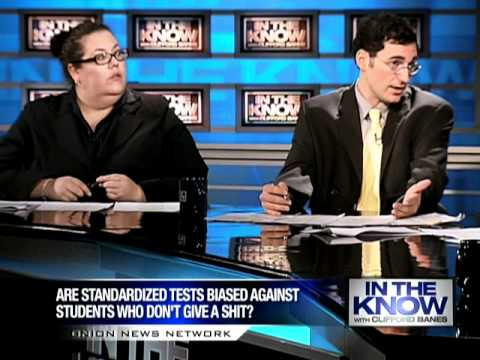 In The Know: Are Tests Biased Against Students Who Don't Give A Shit?