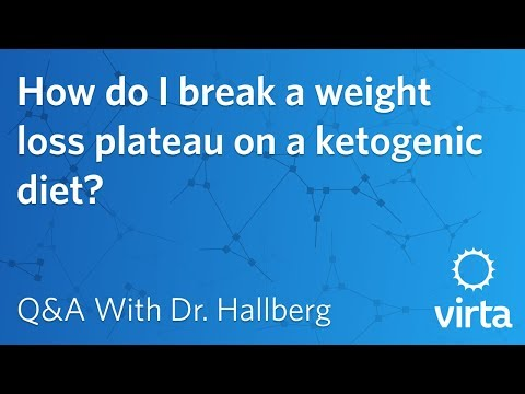 Dr. Sarah Hallberg: How do I break a weight loss plateau on a ketogenic diet?
