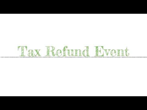 Tax Refund Event - 2019