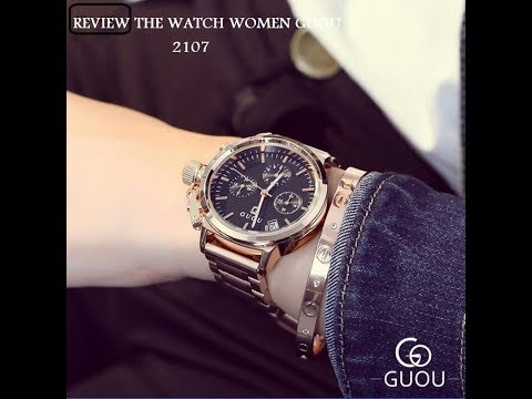 Review watch GUOU women Exquis