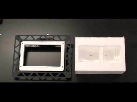 TECE Montage Video Einbaurahmen montieren