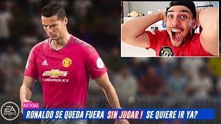 FUERA Ronaldo y DEJO la SELECCIÓN en MODO CARRERA