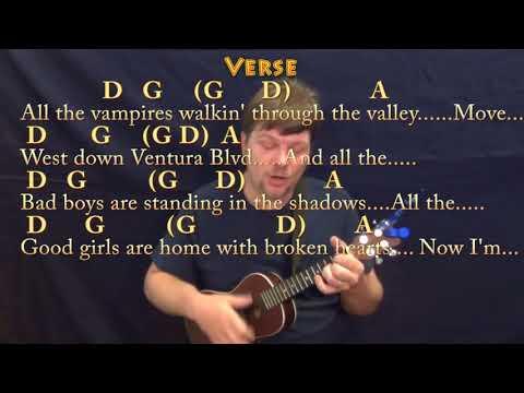 Free Fallin Tom Petty Ukulele Tutorial