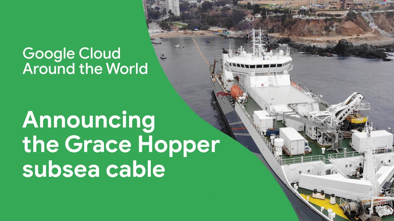 Grace Hopper will connect the United States to the United Kingdom and Spain. The cable will be equipped with 16 fiber pairs and will incorporate novel optical fiber switching that allows for increased reliability in global communications, enabling us to better move traffic around outages.