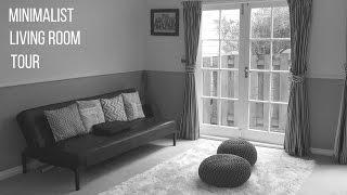 Minimalist Living Room Tour | Second Hand Furniture