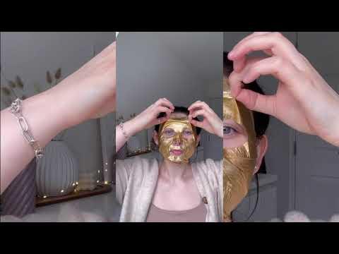 HYALURONIC ACID Gold Foil Mask