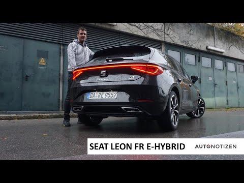 Seat Leon FR e-Hybrid 2020 (204 PS): Plug-in Hybrid im Alltags-Test, Review, Fahrbericht