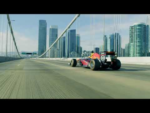F1 2018 - Daniel Ricciardo Road Trip In The USA With The Red Bull RB7