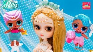 ТОП 5 КУКОЛ РУСАЛОК КТО ПОБЕДИТ? Куклы Барби, Лол сюрприз, Блайз, Семейка кукол Лол Lol surprise