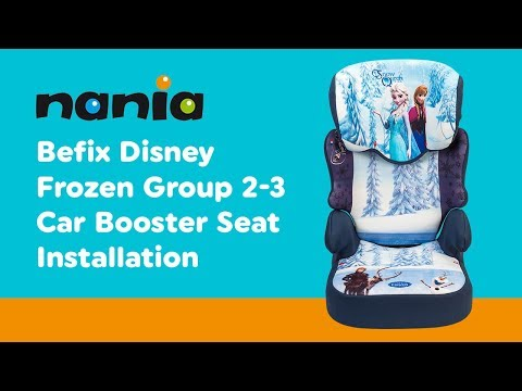 Installation Guide for Nania Befix Group 2-3 Car Seat | Smyths Toys