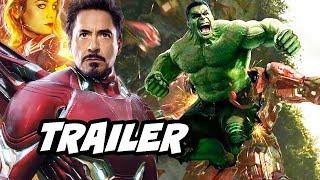Avengers Endgame Super Bowl Trailer - Easter Eggs and References Breakdown