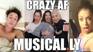 RECREATING CRAZY AF MUSICALLY'S w. NIKITA DRAGUN & CHLOE MORELLO - Video Youtube